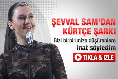 Şevval Sam'dan Kürtçe şarkı: Elqajiye