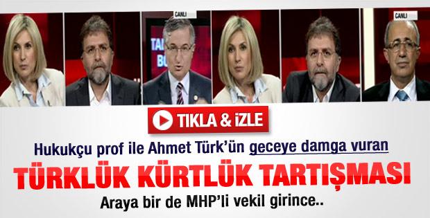Canlı yayında Türklük - Kürtlük tartışması - Video