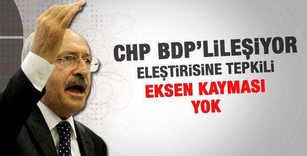 Kılıçdaroğlu: CHP'de Eksen kayması yok