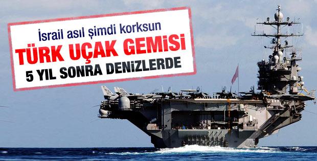 Türkiye'nin ilk uçak gemisi: Maliyeti 1.5 milyar dolar