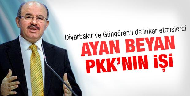 Ayan beyan bir PKK saldırısı