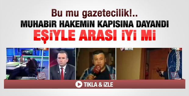 Beyaz TV'de pes dedirten habercilik örneği