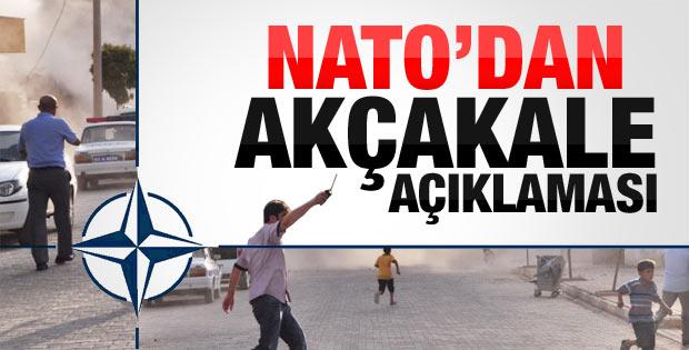 NATO'dan Akçakale saldırısı açıklaması