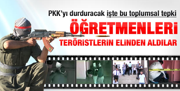 PKK yine okul bastı 6 öğretmeni kaçırdı