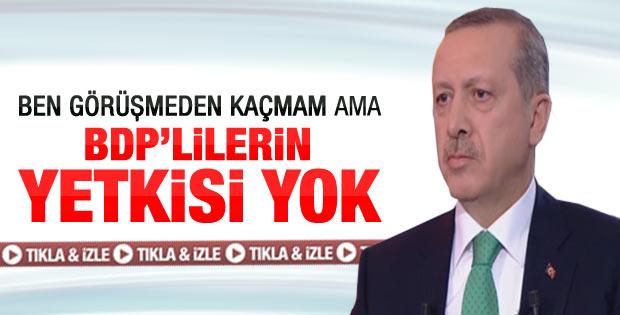 Başbakan Erdoğan ATV canlı yayınındaydı