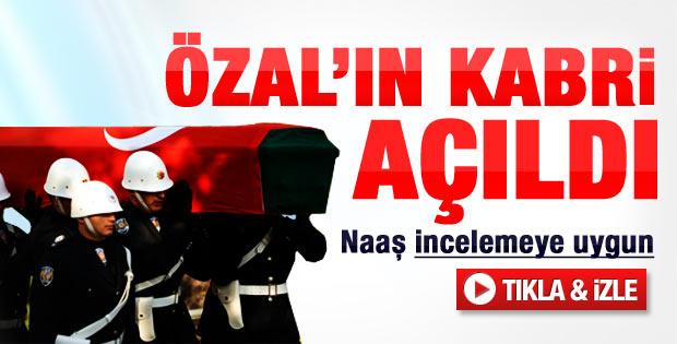 Başsavcı Çolakkadı: Özal'ın cenazesine ulaştık