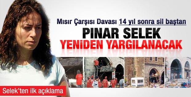 Mahkeme Yargıtay'ın Selek kararına direnmekten vazgeçti