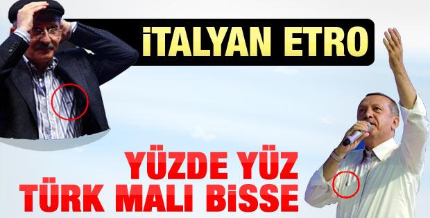 Erdoğan yeni seri özel tasarım  Bisse gömlek giydi