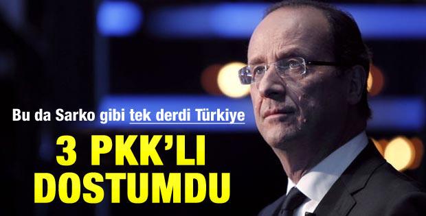 Hollande: Öldürülen PKK'lılardan birini tanıyoruz