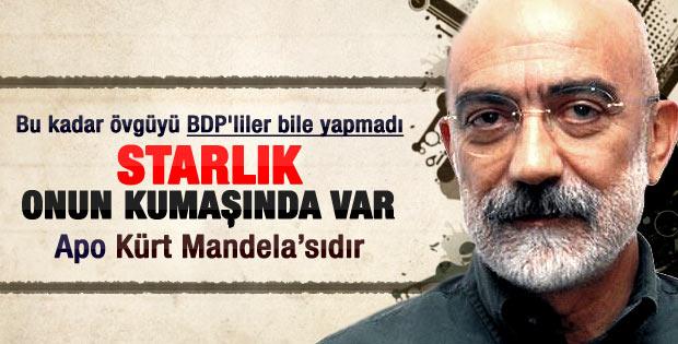 Ahmet Altan: Kürt Mandelası Öcalan