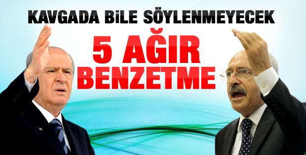 Bahçeli'den Kılıçdaroğlu'na cevap