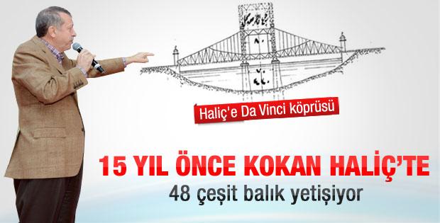 Başbakan Haliç'teki tarihi projeyi anlattı