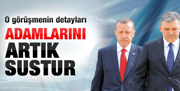 Gül'den Erdoğan'a: Adamlarını artık sustur