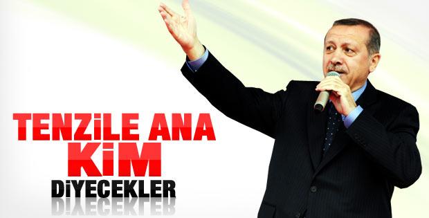 Erdoğan Van'da annesinin adını taşıyan okulu açtı