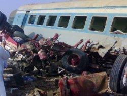 Mısır'da tren kazası: 40 öğrenci öldü