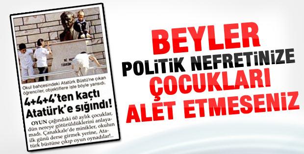 Sözcü: 4+4+4'ten kaçtı Atatürk'e sığındı