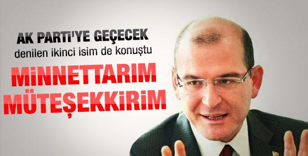 Soylu'dan AK Parti'ye transfer iddialarına cevap