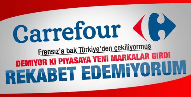 Real ve Carrefour Türkiye'den çekiliyor