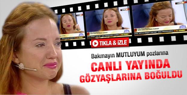 Ayşe Özyılmazel'in gözyaşları - Video