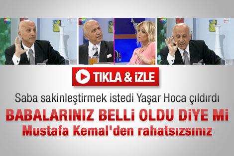 Yaşar hocayı çıldırtan izleyici mesajı - Video