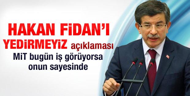 Davutoğlu: MİT'e yönelik kampanya yürütülüyor