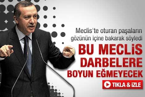 Başbakan Erdoğan'ın Meclis'teki 23 Nisan konuşması