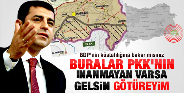 Selahattin Demirtaş: Denetim PKK'da