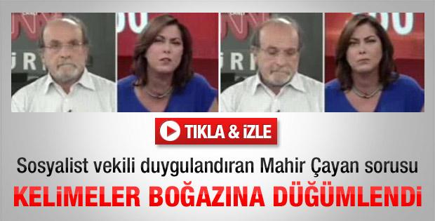 BDP'li vekili duygulandıran Mahir Çayan sorusu - izle