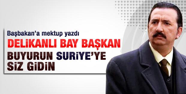 Renan Bilek'ten Başbakan Erdoğan'a mektup