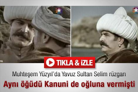 Muhteşem Yüzyıl'da Yavuz Selim rüzgarı - Video