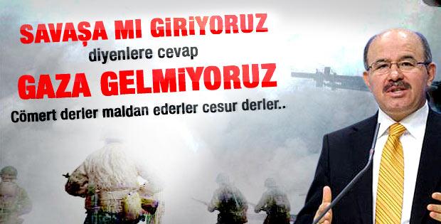 Çelik: AK Parti tabanı Ordu Şam'a demiyor