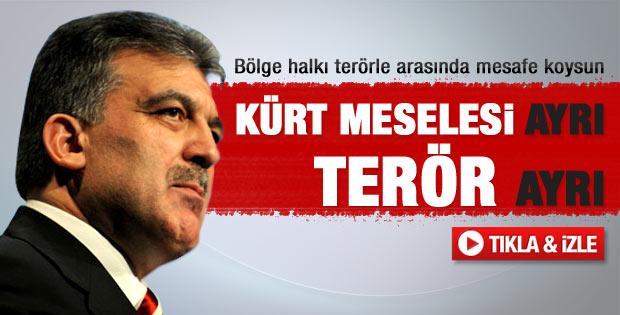 Abdullah Gül'ün 8 şehitle ilgili yeni açıklaması