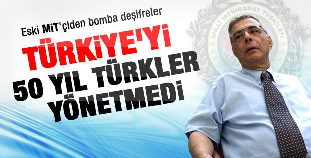 Eymür: Türkiye'yi 50 yıl Türkler yönetmedi
