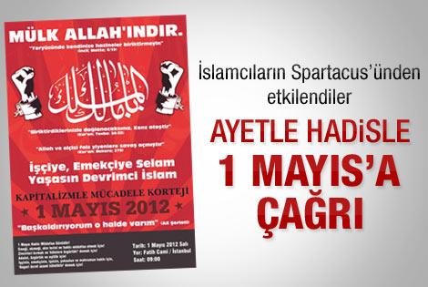 Devrimci İslamcılar 1 Mayıs'a