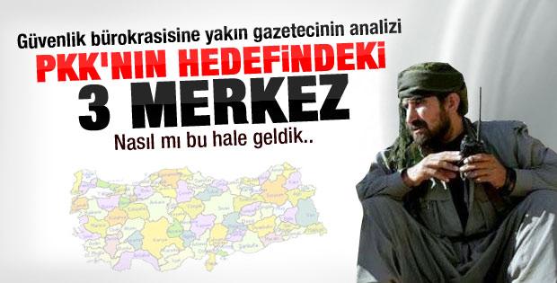 Selvi: PKK'nın hedefinde 3 il var