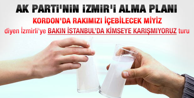 AK Parti yerel seçimde İzmir'i almaya kararlı