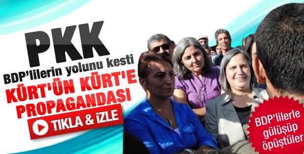 PKK BDP'lilerin yolunu kesti - Galeri