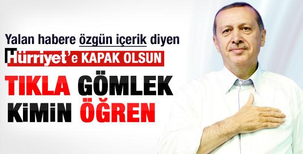 Erdoğan'ın AK Parti kongresinde giydiği gömlek