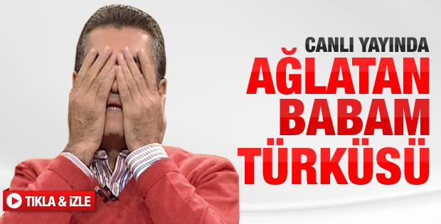 Mustafa Sarıgül'ü canlı yayında ağlatan Baba türküsü