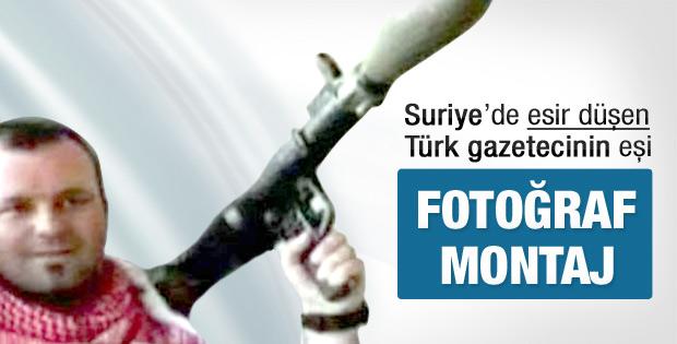 Suriye'deki esir Türk gazetecinin eşi konuştu