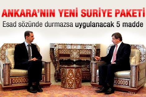 Ankara'nın yeni Suriye paketi hazır