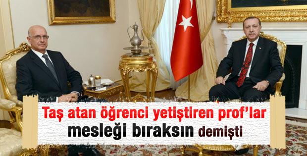 Erdoğan ODTÜ Rektörü ile görüştü