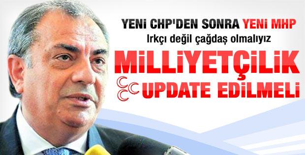 Türkeş: Milliyetçilik update edilmeli
