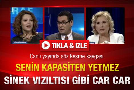 CNN Türk'te söz kesme kavgası – İzle