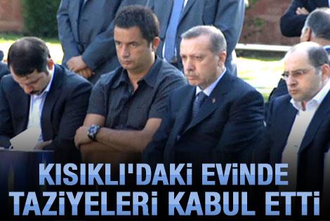 Başbakan Erdoğan taziyeleri kabul etti