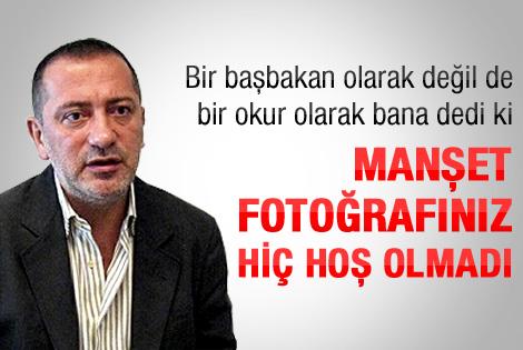 Başbakan'dan Altaylı'ya: Keşke basmasaydınız o fotoğrafı
