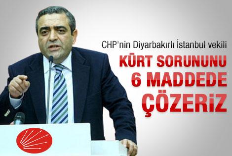 CHP'den Kürt sorunu için 6 öneri