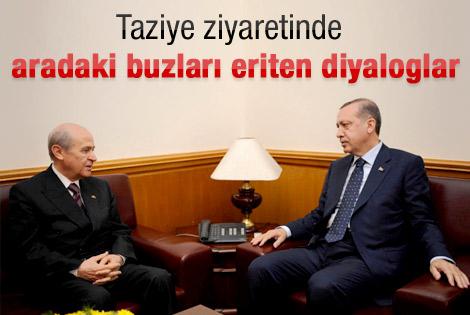 Erdoğan annesiyle son konuşmalarını Bahçeli'ye anlattı