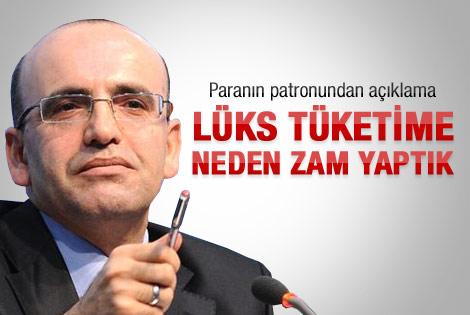 Bakan Şimşek'in ÖTV zammı açıklaması