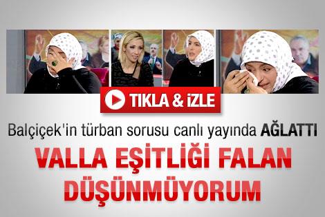 Balçiçek'in türban sorusu Star yazarını ağlattı - İzle